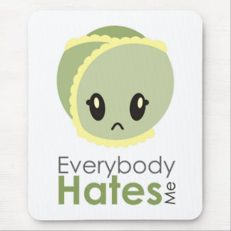 Sprout - Everybody Hates Me Mouse Mat