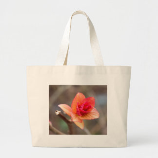 sprout in spring large tote bag