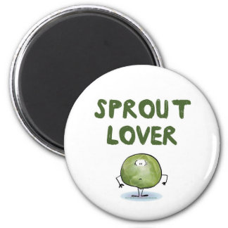 SPROUT LOVER 2 INCH ROUND MAGNET
