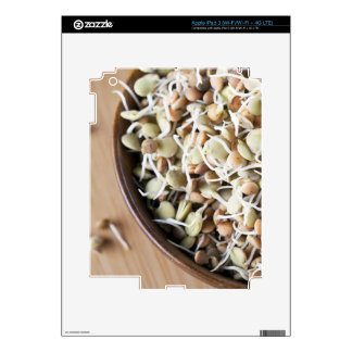 Sprouted Lentils Decals For iPad 3