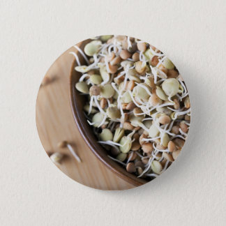 Sprouted Lentils Pinback Button