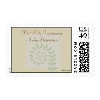 Sprouting Fern Postage Stamp
