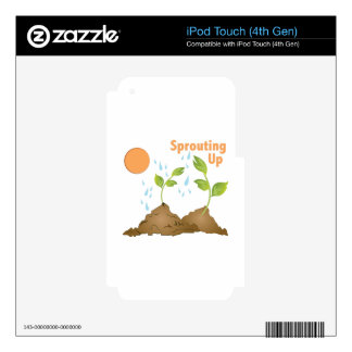 Sprouting Up Decals For iPod Touch 4G