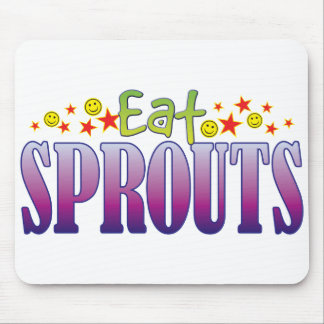 Sprouts Eat Mouse Pad