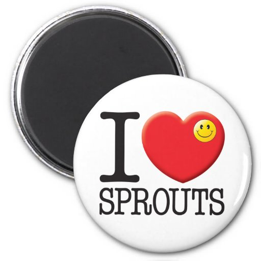 Sprouts Refrigerator Magnet