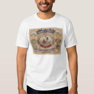 Spruance Stanley y Co., vinos y licores, SF (1305) Camisas
