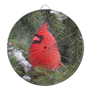 Spruce cardinal dartboard