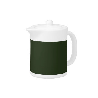 SPRUCE GREEN (solid color) ~ Teapot