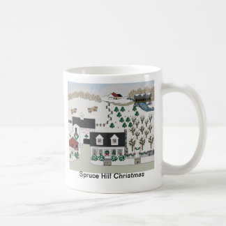 Spruce Hill Christmas Coffee Mug
