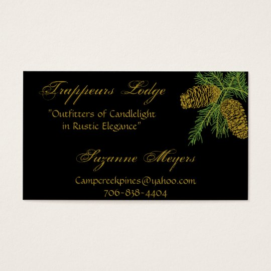 Spruce Pine Cone Business Card v4