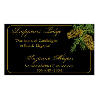 Spruce Pine Cone Business Card v5