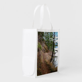 Spruce Railroad Trail Olympic National Park Grocery Bag