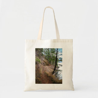 Spruce Railroad Trail Olympic National Park Tote Bag