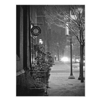 Spruce Street Espresso Photo Print