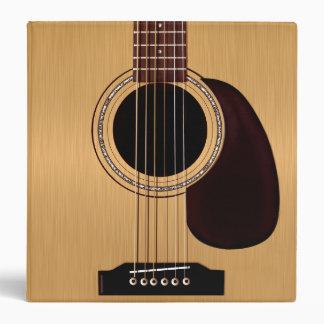 Spruce Top Acoustic Guitar Binders