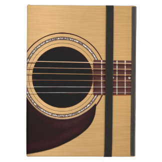 Spruce Top Acoustic Guitar Cover For iPad Air