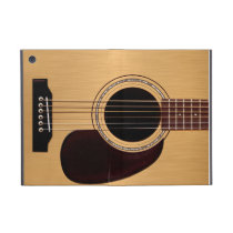 Spruce Top Acoustic Guitar iPad Mini Cover
