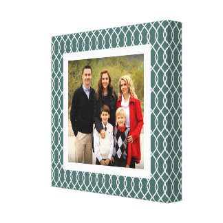 Spruce Trellis | Holiday Photo Canvas Print