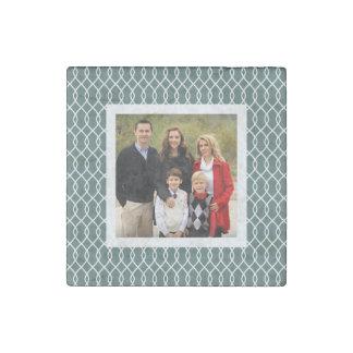 Spruce Trellis | Holiday Photo Stone Magnet