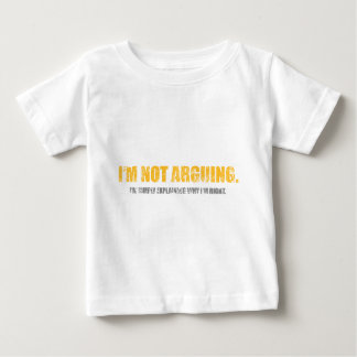 Spruch_0033.png Baby T-Shirt