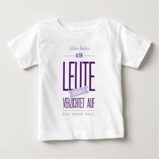 Spruch_Alte_Leute_2c.png Baby T-Shirt