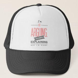 Spruch_Arguing_2c.png Trucker Hat