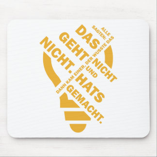 Spruch_Geht_Nicht_mono.png Mouse Pad