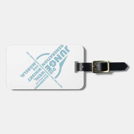 Spruch_Generation_mono.png Travel Bag Tag
