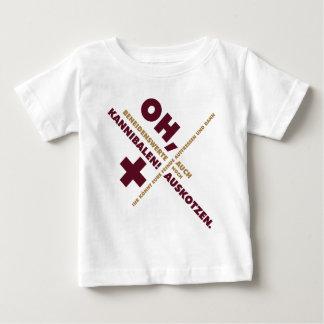 Spruch_Kannibalen_2c.png Infant T-shirt
