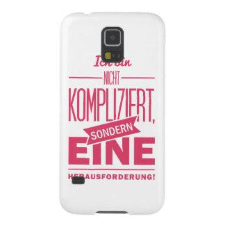 Spruch_Kompliziert_mono.png Funda Galaxy S5