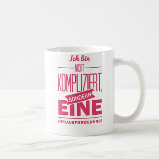 Spruch_Kompliziert_mono.png Coffee Mugs