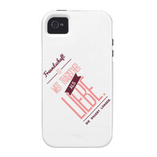 Spruch_Liebe_2c png iPhone 4/4S Cases