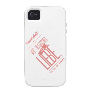 Spruch_Liebe_mono png Case-Mate iPhone 4 Covers