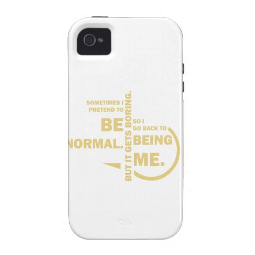 Spruch_Normal_mono.png Case-Mate iPhone 4 Cases