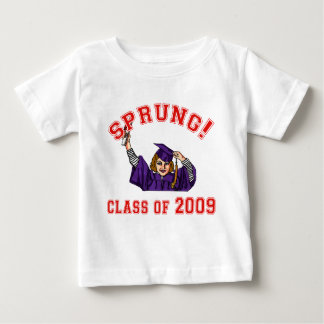 Sprung! Class of 2009 Products Baby T-Shirt
