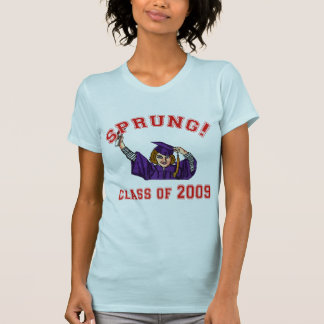 Sprung! Class of 2009 Products T-Shirt