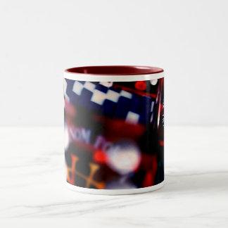 "SPS- ""Tri-Dice"" Coffee Mug"