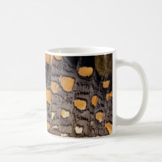 Sptted Snipe Feather Design Coffee Mug
