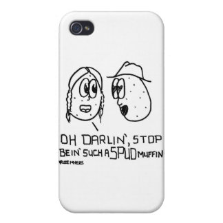 Spud Muffin Cases For iPhone 4