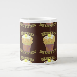 Spud Muffin Pattern 20 Oz Large Ceramic Coffee Mug