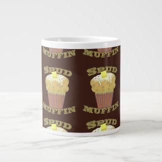 Spud Muffin Pattern Jumbo Mugs