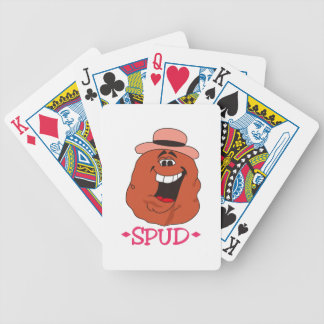Spud Potato Bicycle Playing Cards