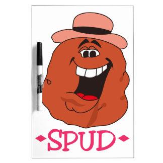 Spud Potato Dry-Erase Boards
