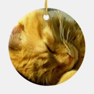 Spud Snuggle Ceramic Ornament