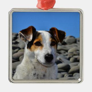 Spud The Dog Metal Ornament
