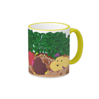 Spudpeeps in Potato Patch mug