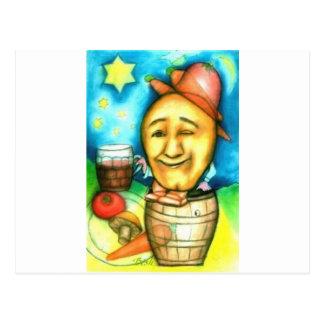 Spud's a Boozer Postcard