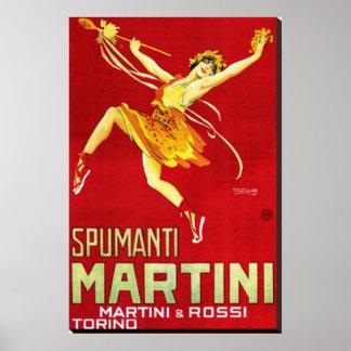 Spumanti, Martini & Rossi Poster