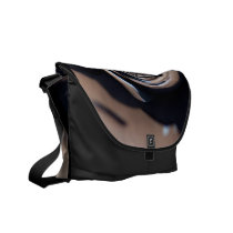 Spun Abstract Courier Bag