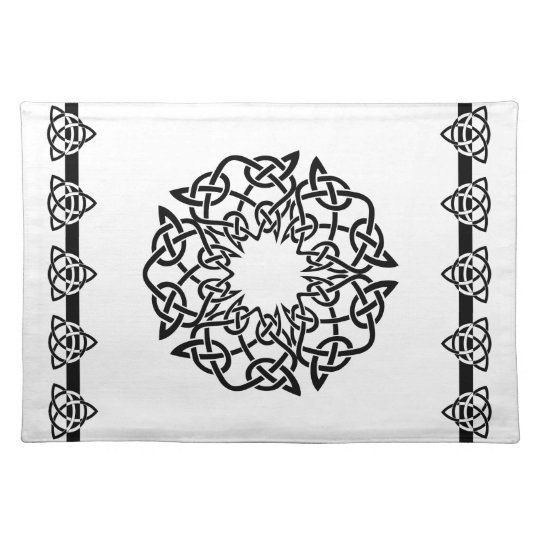 Spun Celtic 4-point Knot, Placemats